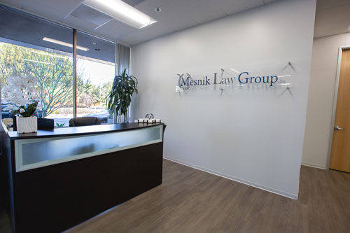 Mesnik Law Office Lobby